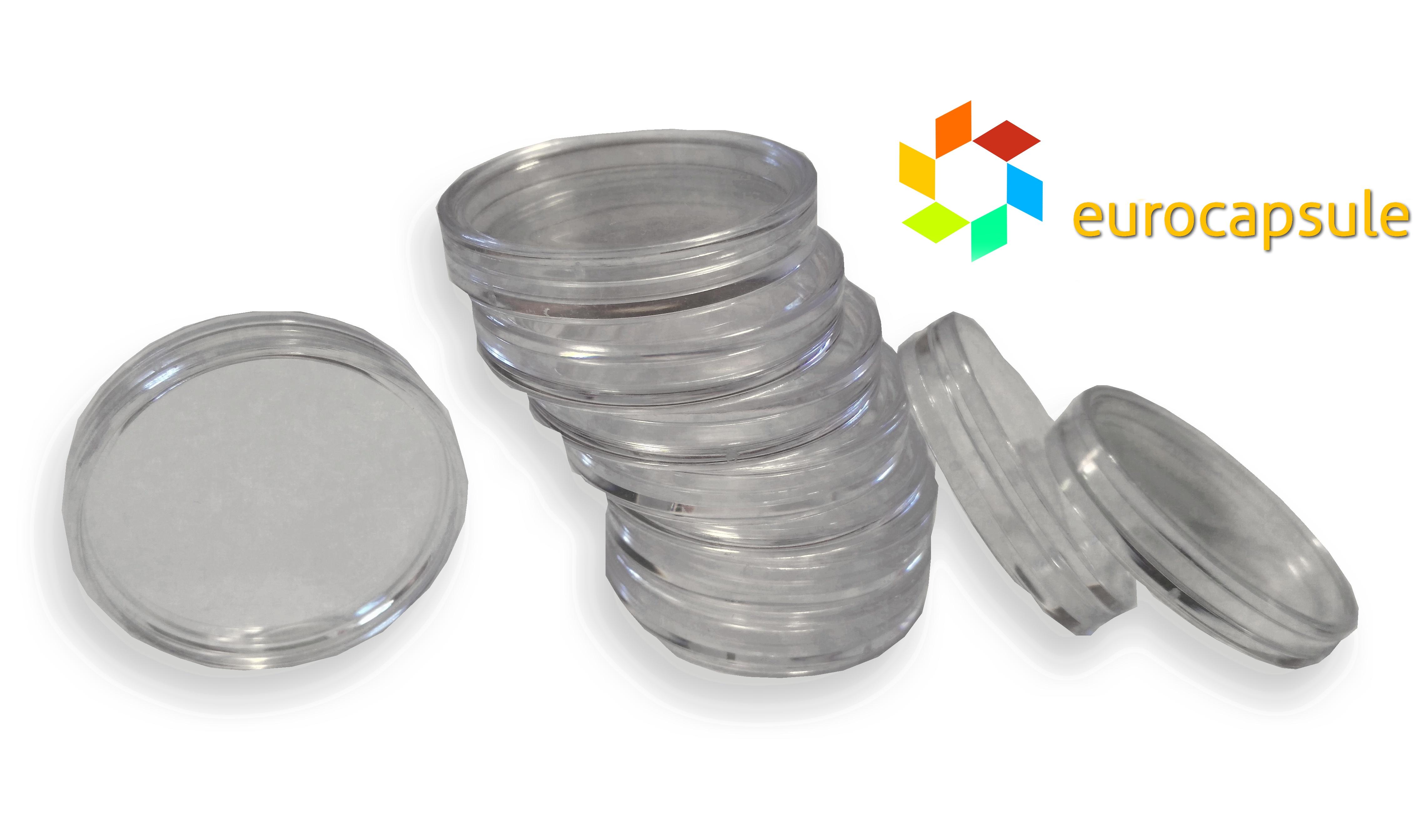 kapsula na 2 eurové mince